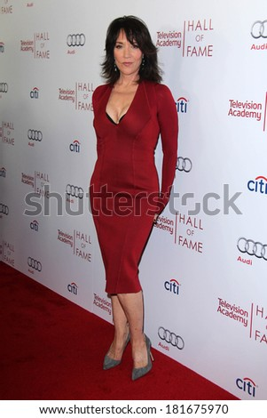 LOS ANGELES - MAR 11:  Katey Sagal at the Television Academy's 23rd Hall Of Fame Induction Gala at Beverly Wilshire Hotel on March 11, 2014 in Beverly Hills, CA - stock photo