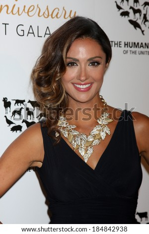 LOS ANGELES - MAR 29:  Katie Cleary at the Humane Society Of The United States 60th Anniversary Gala at Beverly Hilton Hotel on March 29, 2014 in Beverly Hills, CA