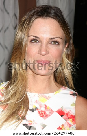 LOS ANGELES - MAR 26:  Kelly Sullivan at the Young & Restless 42nd Anniversary Celebration at the CBS Television City on March 26, 2015 in Los Angeles, CA - stock photo