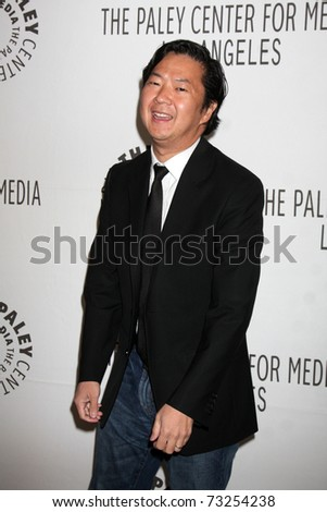 "LOS ANGELES - MAR 15:  Ken Jeong arriving at the ""Community"" PaleyFest 2011 at Saban Theatre on March 15, 2011 in Beverly Hills, CA"