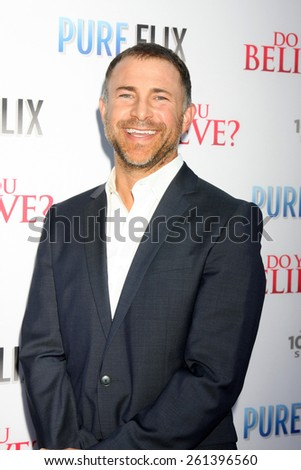"""LOS ANGELES - MAR 16:  Liam Matthews at the """"Do You Believe"""" Premiere at the ArcLight Hollywood Theaters on March 16, 2015 in Los Angeles, CA - stock photo"""