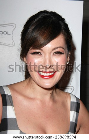 LOS ANGELES - MAR 7:  Lindsay Price at the Raising The Bar To End Parkinsons Event at the Public School 818 on March 7, 2015 in Sherman Oaks, CA - stock photo