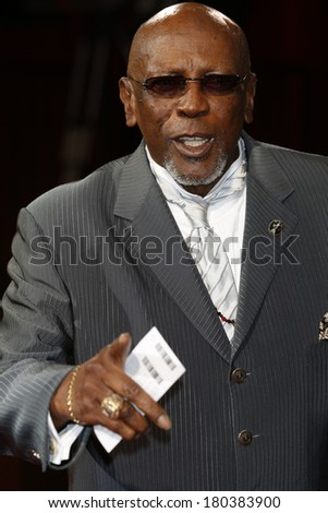 LOS ANGELES - MAR 2:: Lou Gossett Jr.  at the 86th Annual Academy Awards at Hollywood & Highland Center on March 2, 2014 in Los Angeles, California - stock photo