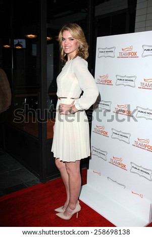 LOS ANGELES - MAR 7:  Missi Pyle at the Raising The Bar To End Parkinsons Event at the Public School 818 on March 7, 2015 in Sherman Oaks, CA - stock photo