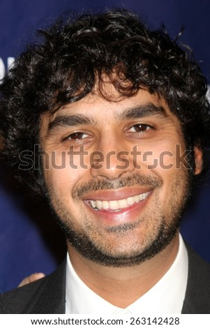 LOS ANGELES - MAR 18:  Neha Kapur, Kunal Nayyar at the 23rd Annual A Night at Sardi's to benefit the Alzheimer's Association at the Beverly Hilton Hotel on March 18, 2015 in Beverly Hills, CA