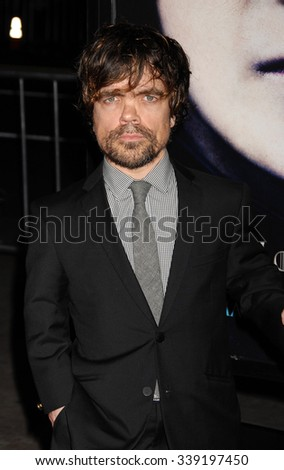 LOS ANGELES - MAR 18 - Peter Dinklage  arrives at the Game Of Thrones Season 3 Los Angeles Premiere on March 18,  2013 in Los Angeles, CA              - stock photo