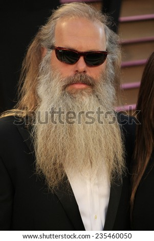 LOS ANGELES - MAR 2:  Rick Rubin at the 2014 Vanity Fair Oscar Party at the Sunset Boulevard on March 2, 2014 in West Hollywood, CA - stock photo