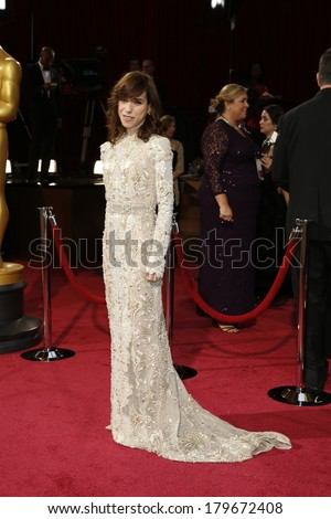 LOS ANGELES - MAR 2:  Sally Hawkins at the 86th Academy Awards at Dolby Theater, Hollywood & Highland on March 2, 2014 in Los Angeles, CA - stock photo