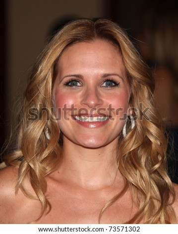LOS ANGELES - MAR 19:  Sally Pressman arrives to the 25th Annual Genesis Awards on March 19, 2011 in Century City, CA