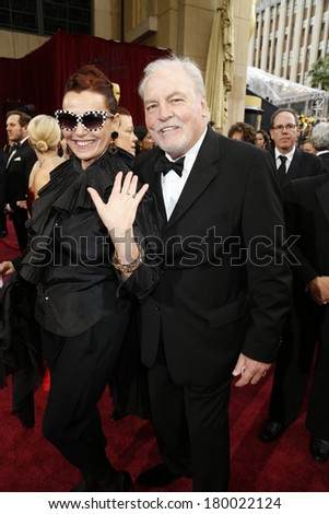 LOS ANGELES - MAR 2:: Stacy Keach  at the 86th Annual Academy Awards at Hollywood & Highland Center on March 2, 2014 in Los Angeles, California