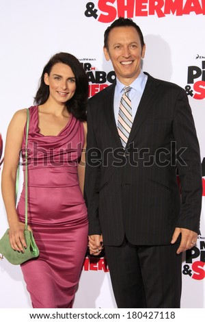 LOS ANGELES   MAR 5: Steve Valentine, Wife Ina At The Premiere Of U0027