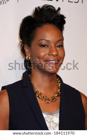 "LOS ANGELES - MAR 27:  Sufe Bradshaw at the PaleyFEST 2014 - ""VEEP"" at Dolby Theater on March 27, 2014 in Los Angeles, CA"