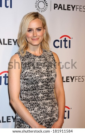 "LOS ANGELES - MAR 14:  Taylor Schilling at the PaleyFEST - ""Orange is the New Black"" at Dolby Theater on March 14, 2014 in Los Angeles, CA"