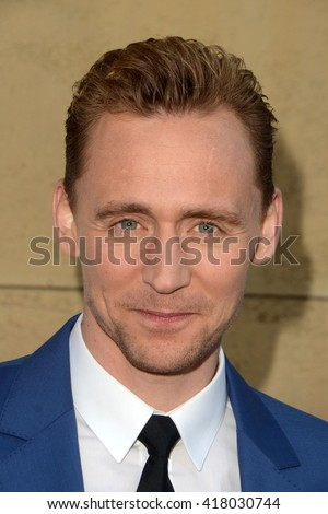 LOS ANGELES - MAR 22:  Tom Hiddleston at the I Saw the Light LA Premiere at the Egyptian Theatre on March 22, 2016 in Los Angeles, CA - stock photo