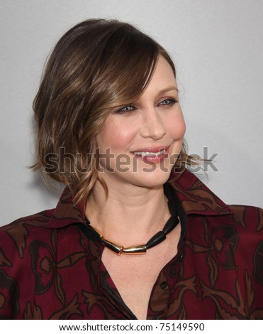 "LOS ANGELES - MAR 28:  Vera Farmiga arrives to the ""Source Code"" Los Angeles Premiere  on March 28,2011 in Beverly Hills, CA"