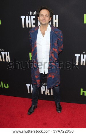 LOS ANGELES - MAR 21: Will Bates at the Premiere of 'The Path' at Arclight Hollywood on March 21, 2016 in Los Angeles, California - stock photo