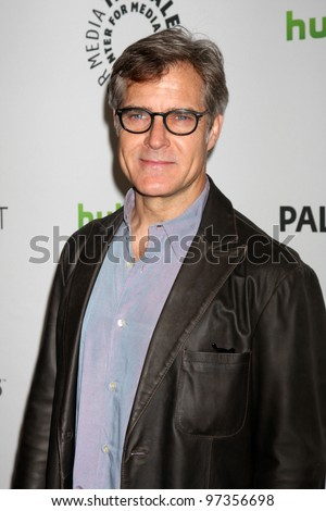 "LOS ANGELES - MARCH 11:  Henry Czerny arrives at the ""Revenge"" Event at PaleyFest 2012 at the Saban Theater on March 11, 2012 in Los Angeles, CA"