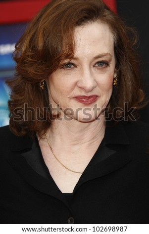 LOS ANGELES - MARCH 6: Joan Cusack at the World Premiere of 'Mars Needs Moms' held at the El Capitan Theater in Los Angeles, California on March 6, 2011