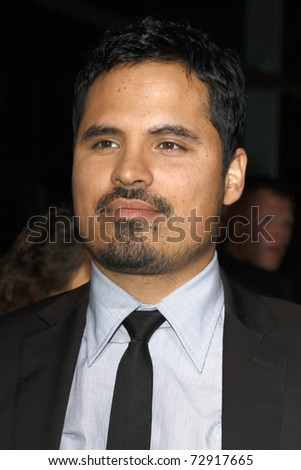 "LOS ANGELES - MARCH 10: Michael Pena arrives at the ""Lincoln Lawyer"" Premiere at ArcLight Theaters on March 10, 2011 in Los Angeles, CA"