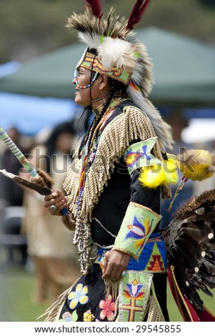 LOS ANGELES - MAY 2: American Indian Elder of the Blackfoot nation at the 24th Annual UCLA Pow Wow on May 2, 2009 in Los Angeles.