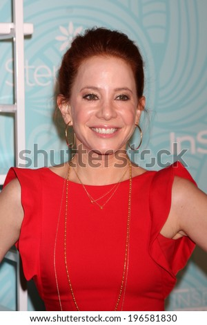 LOS ANGELES - MAY 30:  Amy Davidson at the Step Up's Inspiration Network Luncheon at Beverly Hilton on May 30, 2014 in Beverly Hills, CA - stock photo