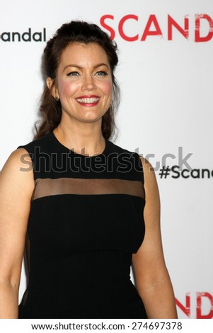 """LOS ANGELES - MAY 1:  Bellamy Young at the """"Scandal"""" For Your Consideration ATAS Event at the Directors Guild of America on May 1, 2015 in Los Angeles, CA - stock photo"""