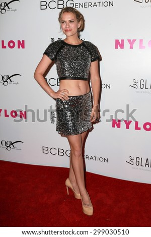 LOS ANGELES - MAY 7:  Bethany Joy Lenz at the NYLON Magazine Young Hollywood Issue Party  at the HYDE Sunset on May 7, 2015 in West Hollywood, CA - stock photo
