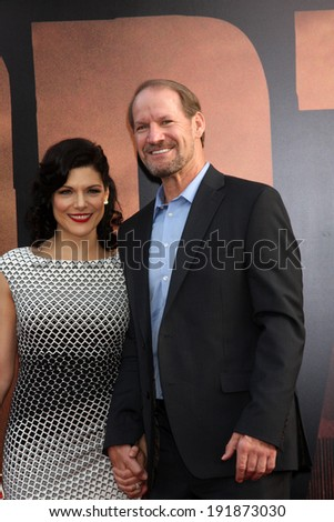 "LOS ANGELES - MAY 8:  Bill Cowher at the ""Godzilla"" Premiere at Dolby Theater on May 8, 2014 in Los Angeles, CA - stock photo"
