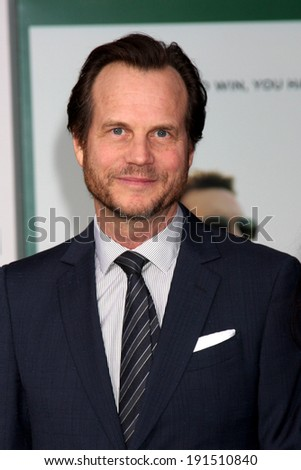 "LOS ANGELES - MAY 6:  Bill Paxton at the ""Million Dollar Arm"" Premiere at El Capitan Theater on May 6, 2014 in Los Angeles, CA - stock photo"