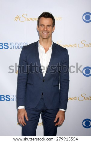 LOS ANGELES - MAY 18:  Cameron Mathison at the CBS Summer Soiree 2015 at the London Hotel on May 18, 2015 in West Hollywood, CA - stock photo