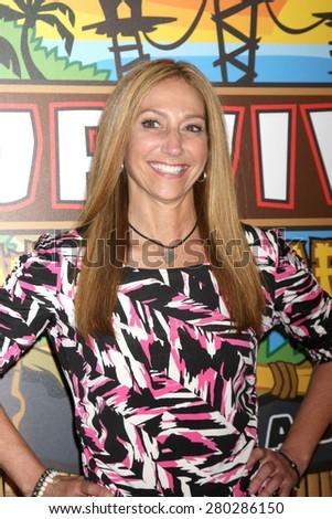 LOS ANGELES - MAY 20:  Carolyn Rivera at the Survivor Season 30 Finale at the CBS Radford on May 20, 2015 in Studio City, CA - stock photo