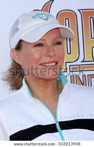 LOS ANGELES - MAY 7:  Cheryl Ladd arrives at the 5th Annual George Lopez Celebrity Golf Classic at Lakeside Golf Club on May 7, 2012 in Toluca Lake, CA