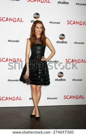 """LOS ANGELES - MAY 1:  Darby Stanchfield at the """"Scandal"""" For Your Consideration ATAS Event at the Directors Guild of America on May 1, 2015 in Los Angeles, CA - stock photo"""