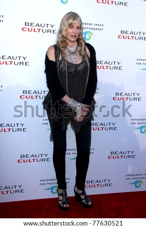LOS ANGELES - MAY 19:  Daryl Hannah  arriving at the Opening Night of the Beauty Culture Exhibit at The Annenberg Space For Photography on May 19, 2011 in Century City, CA