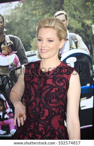 LOS ANGELES - MAY 14: Elizabeth Banks at the premiere of 'What To Expect When You're Expecting' held at Grauman's Chinese Theater on May 14, 2012  in Los Angeles, California