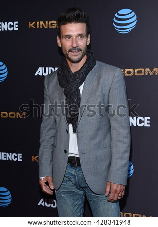 "LOS ANGELES - MAY 25:  Frank Grillo arrives to the ""Kingdom"" Season 2.5 Premiere  on May 25, 2016 in Hollywood, CA.                 - stock photo"