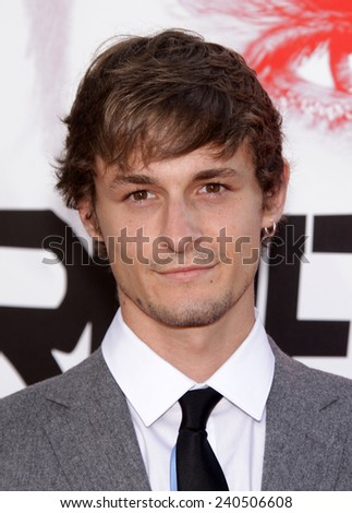"""LOS ANGELES - MAY 30:  GILES MATTHEY arrives to """"True Blood"""" Season 5 Premiere  on May 30, 2012 in Hollywood, CA                 - stock photo"""