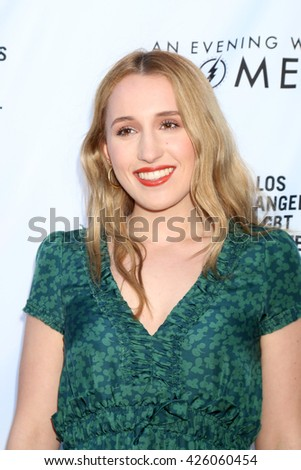 LOS ANGELES - MAY 21:  Harley Quinn Smith at the An Evening With Women 2016 at Hollywood Palladium on May 21, 2016 in Los Angeles, CA - stock photo