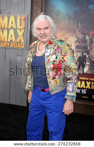 LOS ANGELES - MAY 7:  Hugh Keays-Byrne at the Mad Max: Fury Road Los Angeles Premiere at the TCL Chinese Theater IMAX on May 7, 2015 in Los Angeles, CA - stock photo