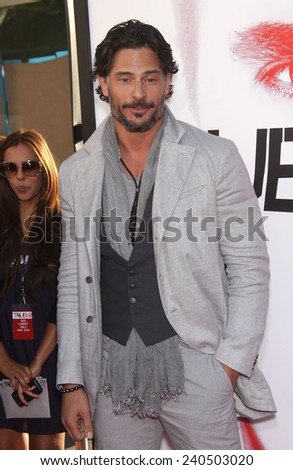 "LOS ANGELES - MAY 30:  JOE MANGANIELLO arrives to ""True Blood"" Season 5 Premiere  on May 30, 2012 in Hollywood, CA                 - stock photo"