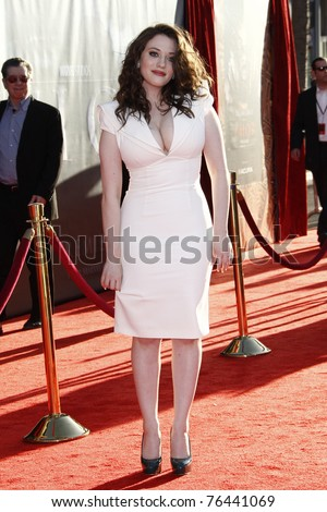 LOS ANGELES - MAY 2:  Kat Dennings at the premiere of Thor at the El Capitan Theater, Los Angeles, California on May 2, 2011.