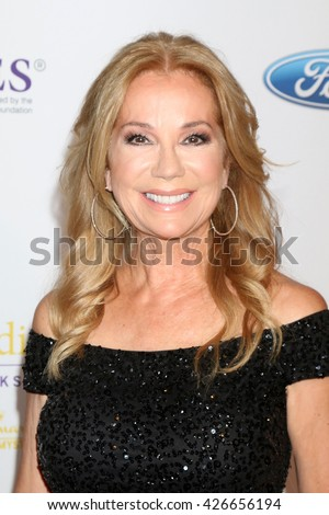 LOS ANGELES - MAY 24:  Kathie Lee Gifford at the 41st Annual Gracie Awards Gala at Beverly Wilshire Hotel on May 24, 2016 in Beverly Hills, CA - stock photo