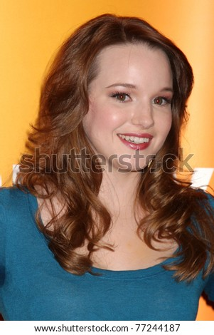 LOS ANGELES - MAY 14:  Kay Panabaker at the Disney ABC Television Group May Press Junket 2011 at ABC Building on May 14, 2011 in Burbank, CA