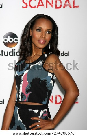 """LOS ANGELES - MAY 1:  Kerry Washington at the """"Scandal"""" For Your Consideration ATAS Event at the Directors Guild of America on May 1, 2015 in Los Angeles, CA - stock photo"""