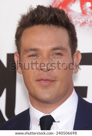 """LOS ANGELES - MAY 30:  KEVIN ALEJANDRO arrives to """"True Blood"""" Season 5 Premiere  on May 30, 2012 in Hollywood, CA                 - stock photo"""