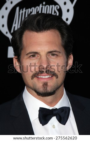 "LOS ANGELES - MAY 3:  Kristoffer Polaha at the ""Where Hope Grows"" Los Angeles Premiere at the ArcLight Hollywood Theaters on May 3, 2015 in Los Angeles, CA - stock photo"