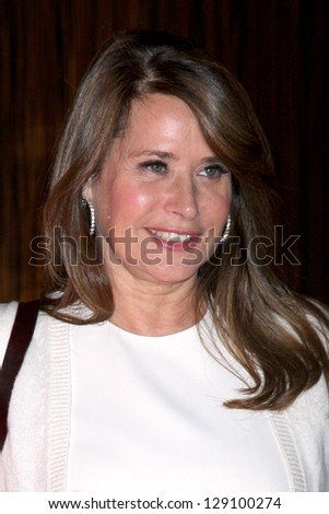 LOS ANGELES - MAY 22:  Lorraine Bracco arrives at the 37th Annual Gracie Awards Gala at Beverly Hilton Hotel on May 22, 2012 in Beverly Hills, CA - stock photo
