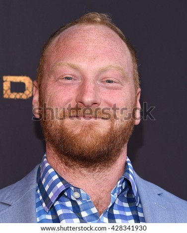 "LOS ANGELES - MAY 25:  Mac Brandt arrives to the ""Kingdom"" Season 2.5 Premiere  on May 25, 2016 in Hollywood, CA."