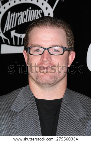 "LOS ANGELES - MAY 3:  Nate Robertson at the ""Where Hope Grows"" Los Angeles Premiere at the ArcLight Hollywood Theaters on May 3, 2015 in Los Angeles, CA - stock photo"