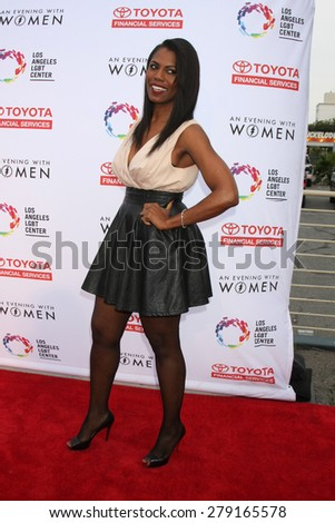 "LOS ANGELES - MAY 16:  Omarosa Manigault at the ""An Evening with Women"" Benefitting LA LGBT Center at the Palladium on May 16, 2015 in Los Angeles, CA"